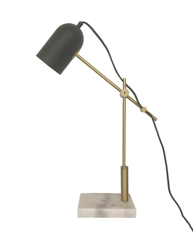 Parish Table Lamp Brass And Black