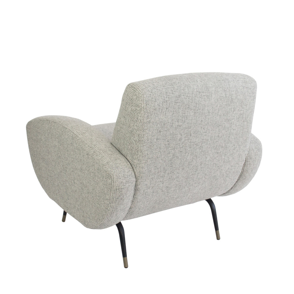 Kennedy Armchair Natural/Grey