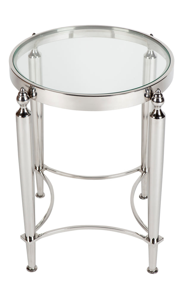 Jacques Side Table Nickel
