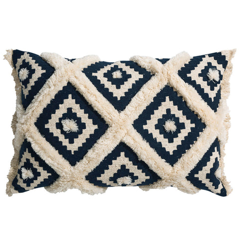Boho Coastal Bobble Cushion