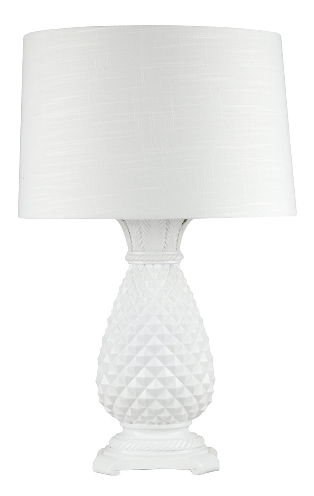 Hacienda Table Lamp White