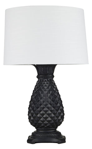 Bedside lamps table lamps australia interiors online hacienda table lamp black mozeypictures Images