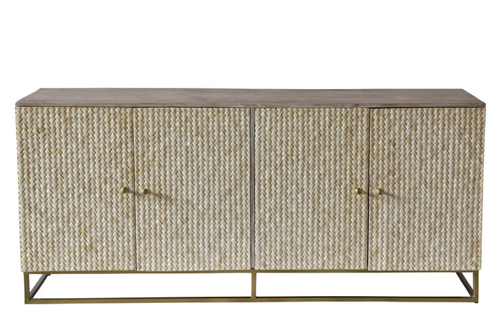 Yucatan Bone Inlay Sideboard