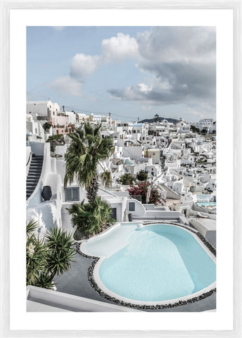 Mykonos Photographic Framed Print