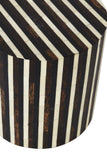 Lyon Bone Inlay Side Table/Stool