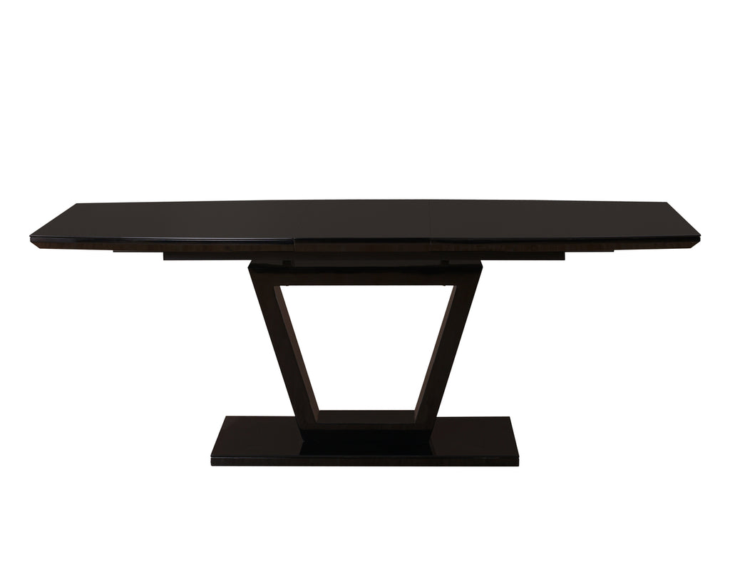 Romeo Extension Dining Table Black
