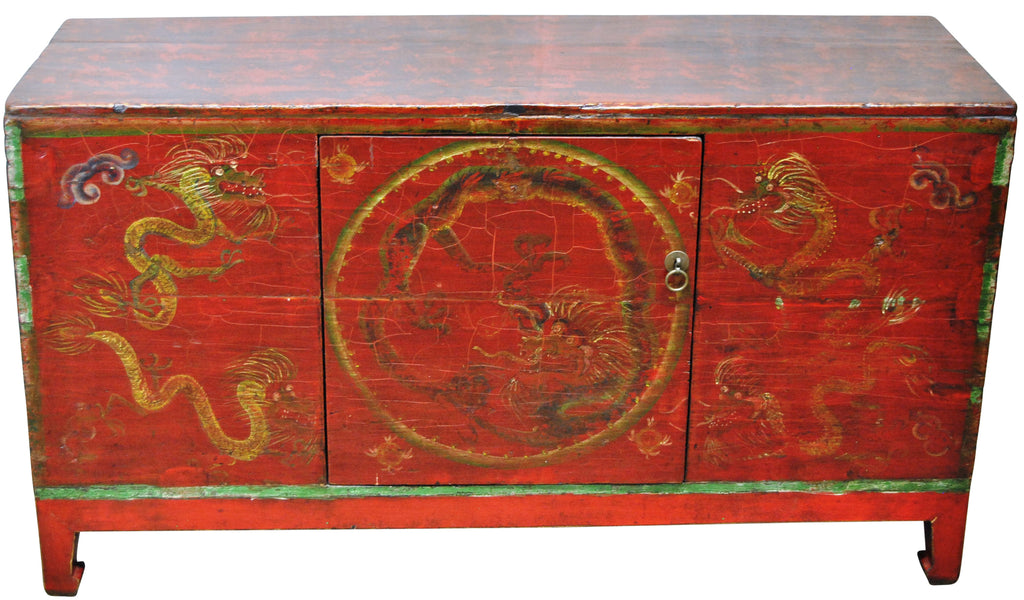 Dragon Cabinet/Chest Circa 1860
