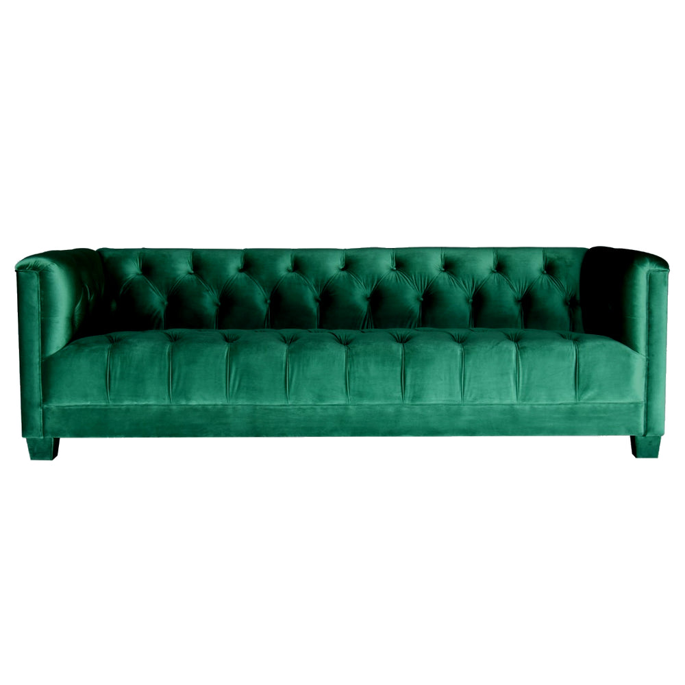 Bellagio 3 Seat Sofa Emerald Green
