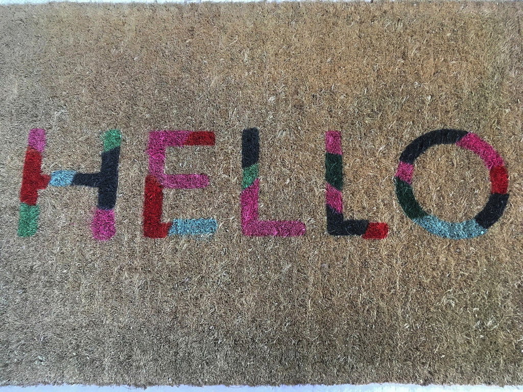 Colour Hello Regular Doormat