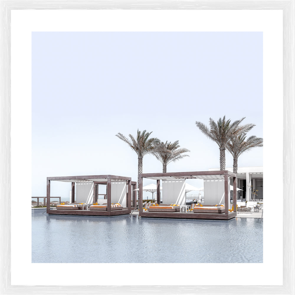 Resort Photographic Framed Print