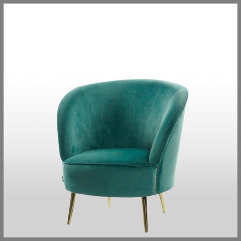 Lennox Occasional Chair Teal