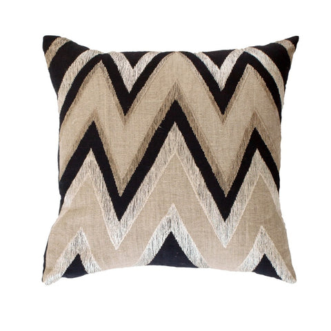 Zebra Print Cowhide Cushion Cover