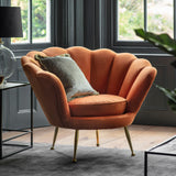 Mignon Armchair Rusty Orange