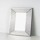 Antiqued Step Mirror