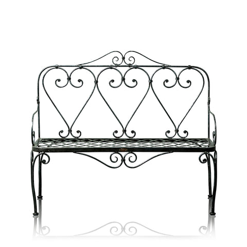 Victorian Wrought Iron 2 Seater Bench