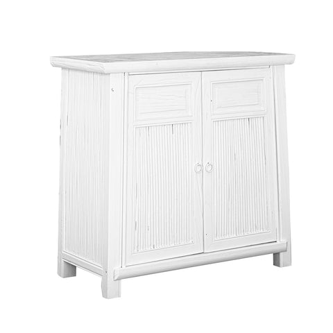 Bamboo Cabinet White