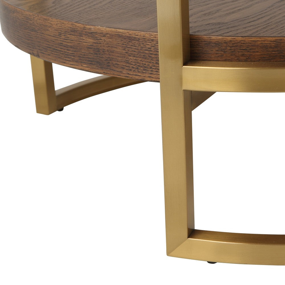 Pearce Round 2 Tier Side Table