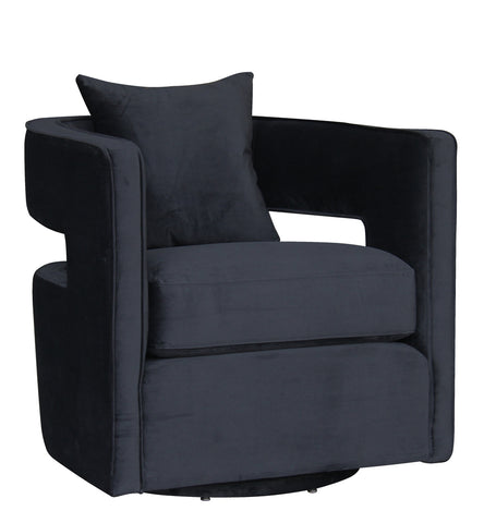 Rowntree Swivel Chair Black