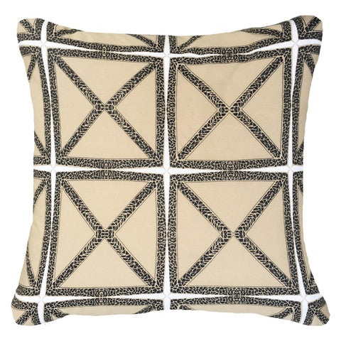 Mosaic Natural Outdoor Cushion