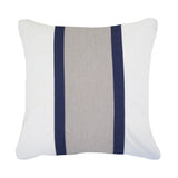 Outdoor Raffia Medium Cushion Navy