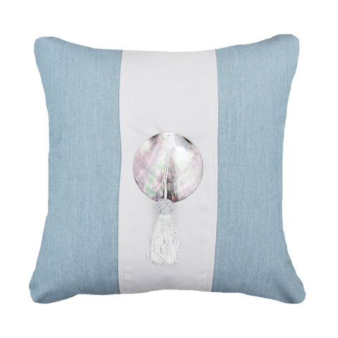 Outdoor Tassel Medium Cushion Cloud