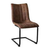 Manning Dining Chair Pack/2 Brown