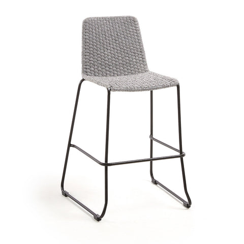Shore Barstool Light Grey