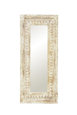 Majara Mirror Distressed White