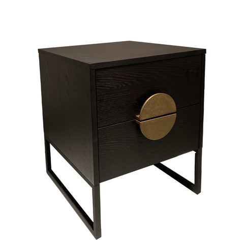 Olympia Bedside with Gold Handle