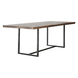 Fareham Dining Table Natural with Grey Wash 220cm