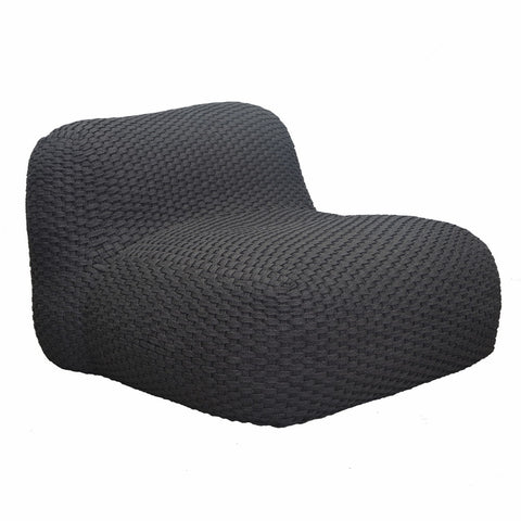 Elements Outdoor One Seater Sofa/Chair Charcoal