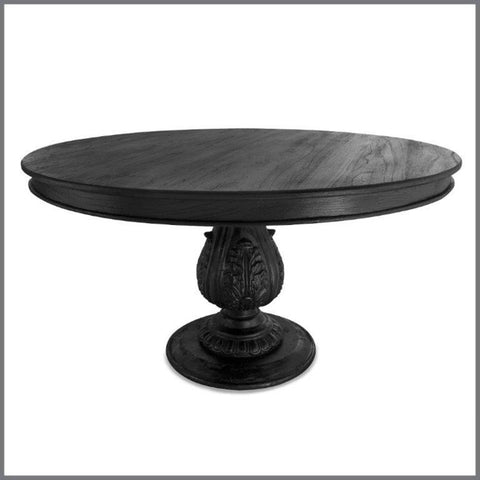 York Dining Table Black