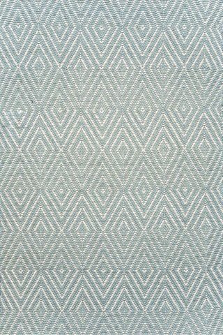 Diamond Indoor/Outdoor Rug Light Blue