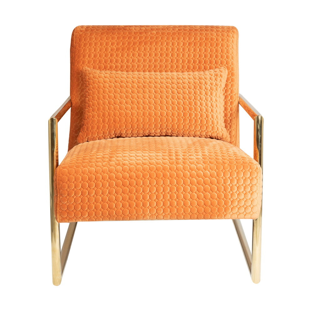 Saxon Armchair Orange