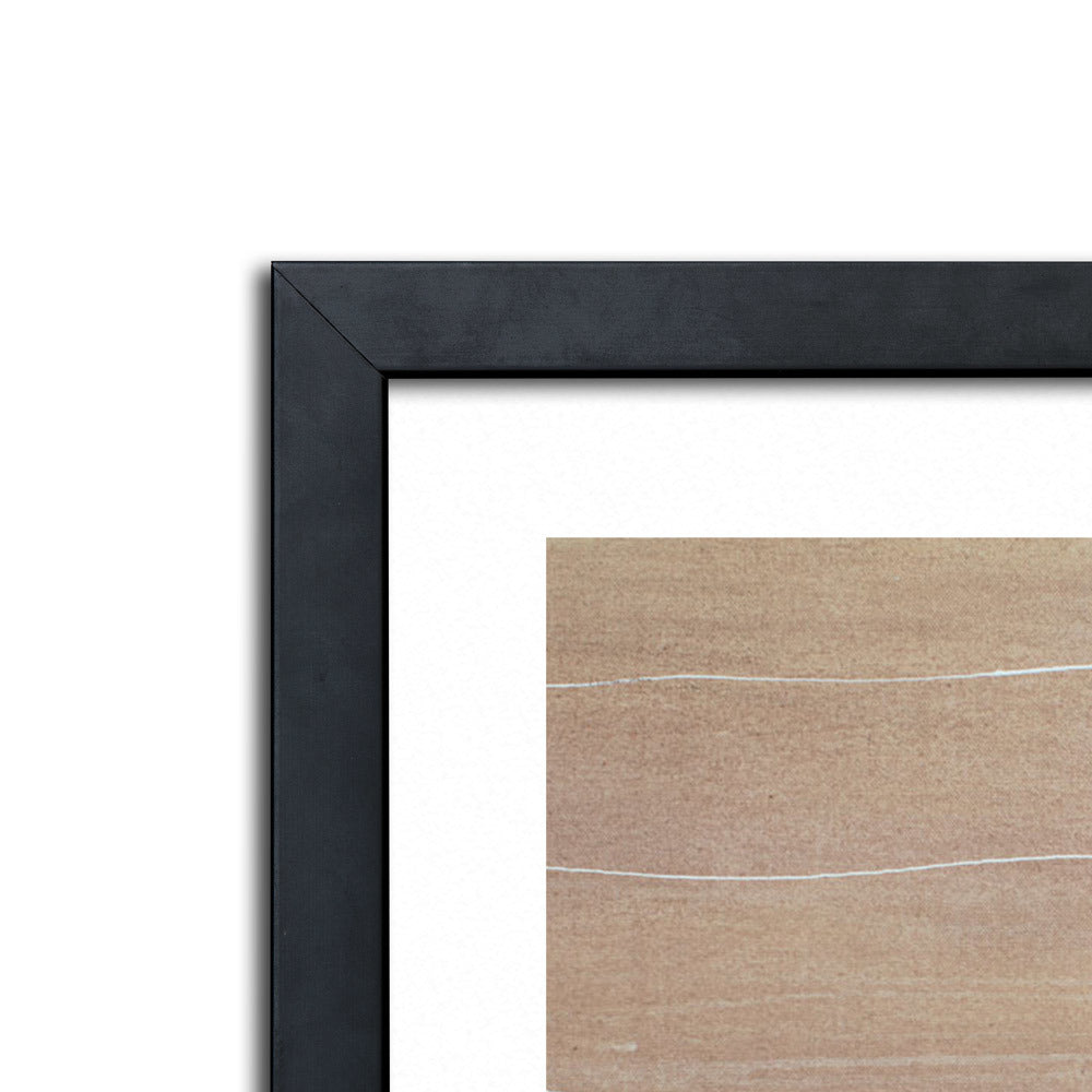 Natural Birch Framed Print