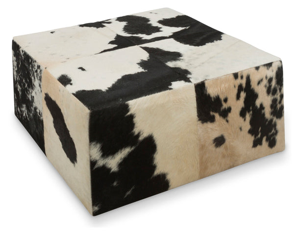 Cowhide Coffee Table/Ottoman