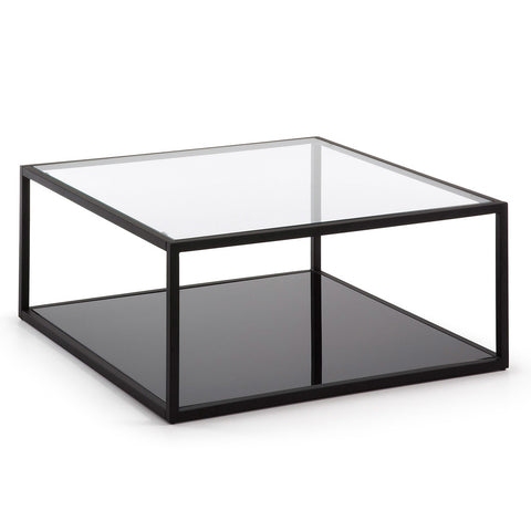 Giatti Square Coffee Table Black