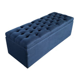 Freeport Storage Bench Navy