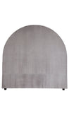 Dover Headboard Arched Grey Queen
