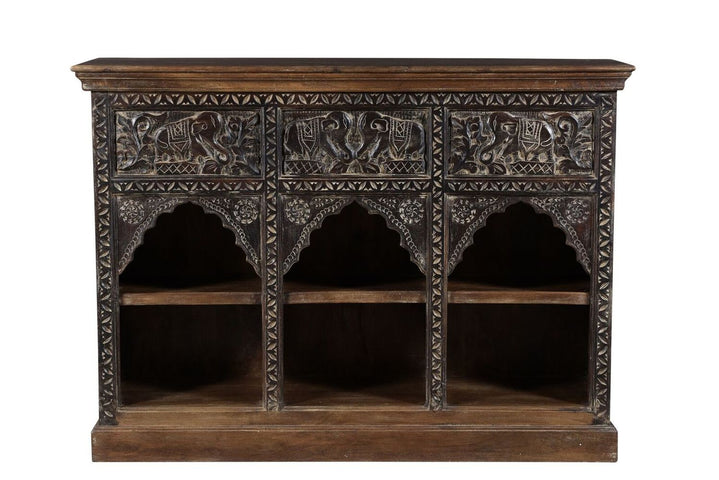 Khatri Carved Shelving Unit