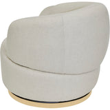 Bobby Swivel Chair Natural