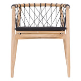 Arniston Dining Chair Natural and Black
