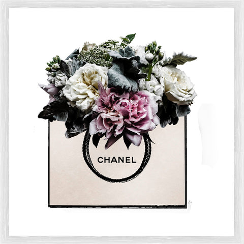 Chanel Bouquet Photographic Framed Print
