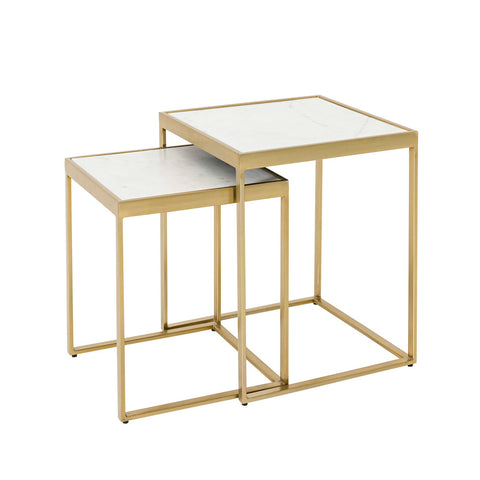 Sven Brass Tables Set/2
