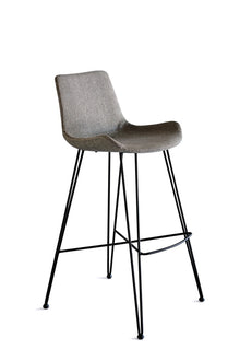 Frankie Bar Stool Light Grey