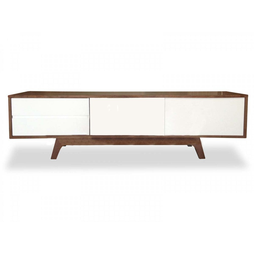Copenhagen Entertainment Unit Walnut 180cm