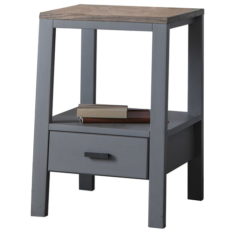 Shoreham Side Table Smoked Grey