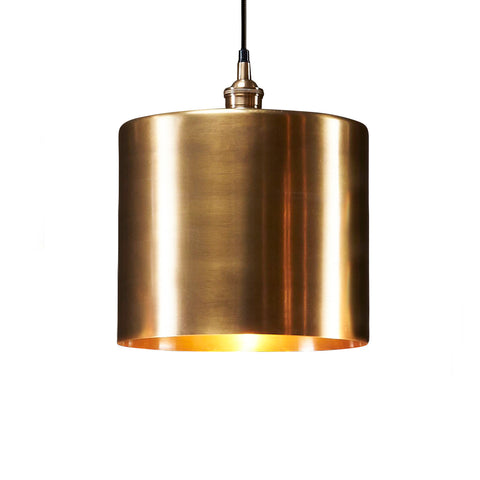 Lugano Pendant Antique Brass Large