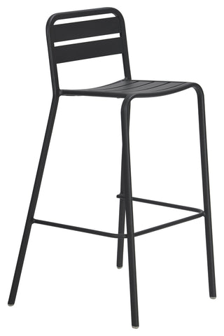Halmstad Outdoor Bar Chair Anthracite
