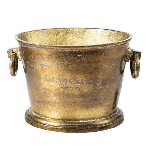 Avignon Wine Cooler Brass